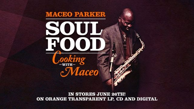 Neues Cover für Maceo Parker
